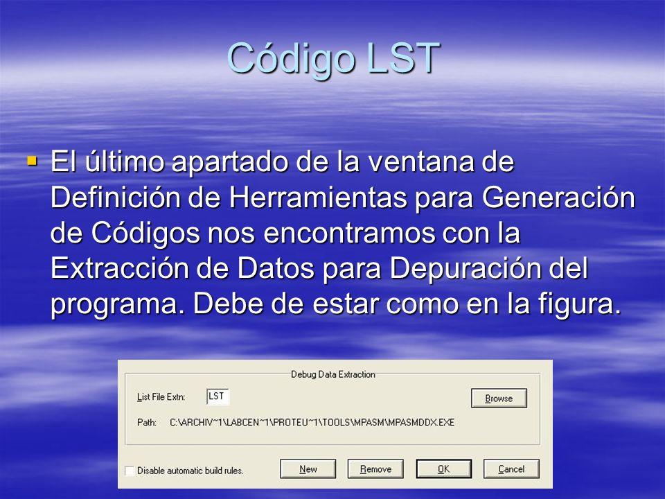 Código LST