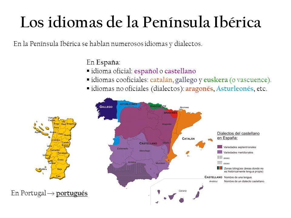 Los idiomas de la Península Ibérica