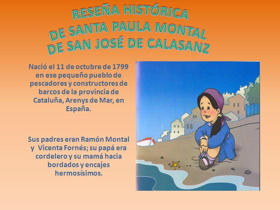 Nació el 11 de octubre de 1799 en ese pequeño pueblo de pescadores y constructores de barcos de la provincia de Cataluña, Arenys de Mar, en España.