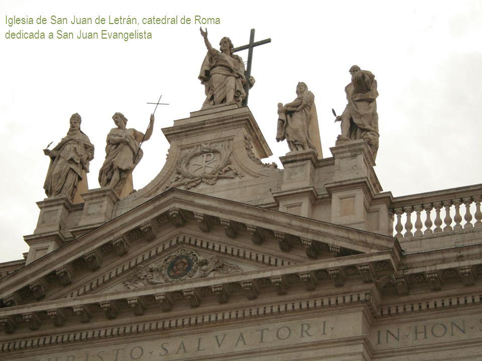 Iglesia de San Juan de Letrán, catedral de Roma