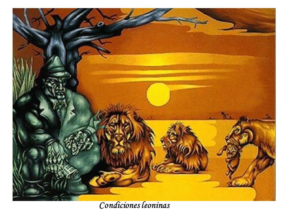 Condiciones leoninas