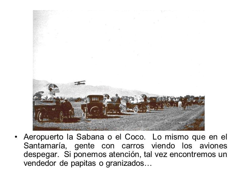 Aeropuerto la Sabana o el Coco