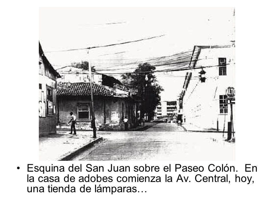 Esquina del San Juan sobre el Paseo Colón
