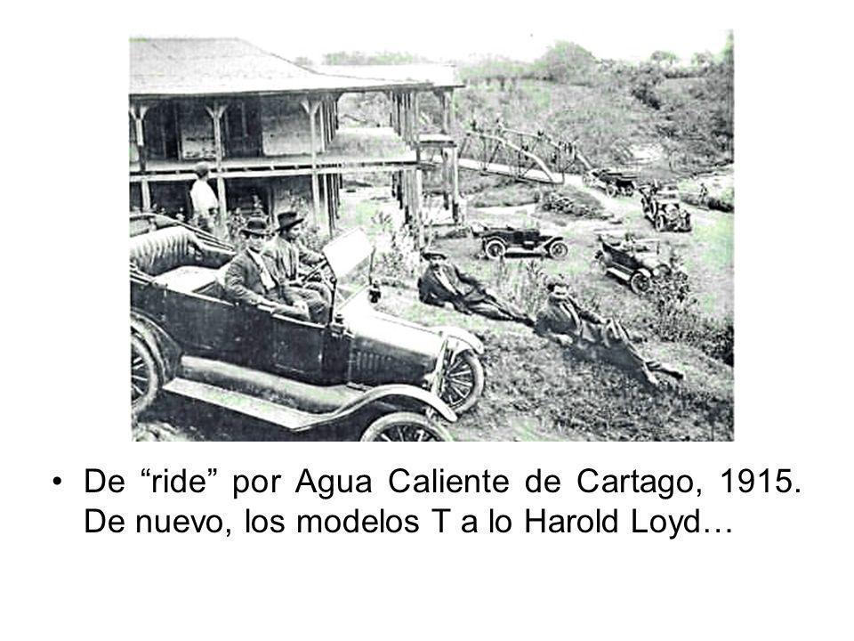 De ride por Agua Caliente de Cartago, 1915