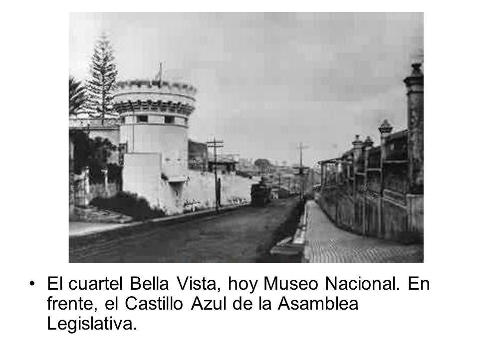 El cuartel Bella Vista, hoy Museo Nacional