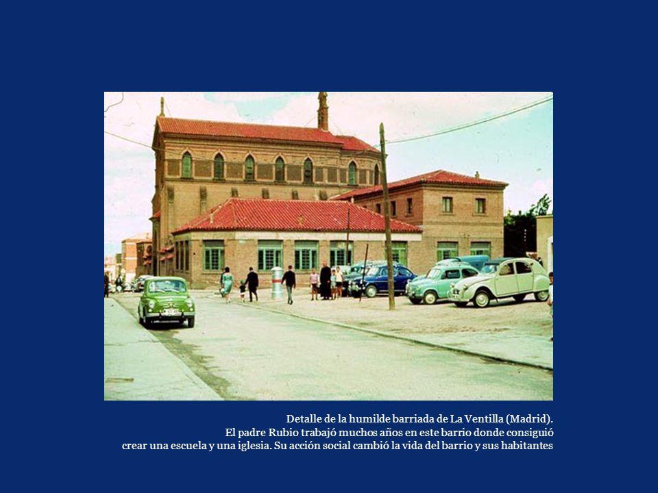 Detalle de la humilde barriada de La Ventilla (Madrid)