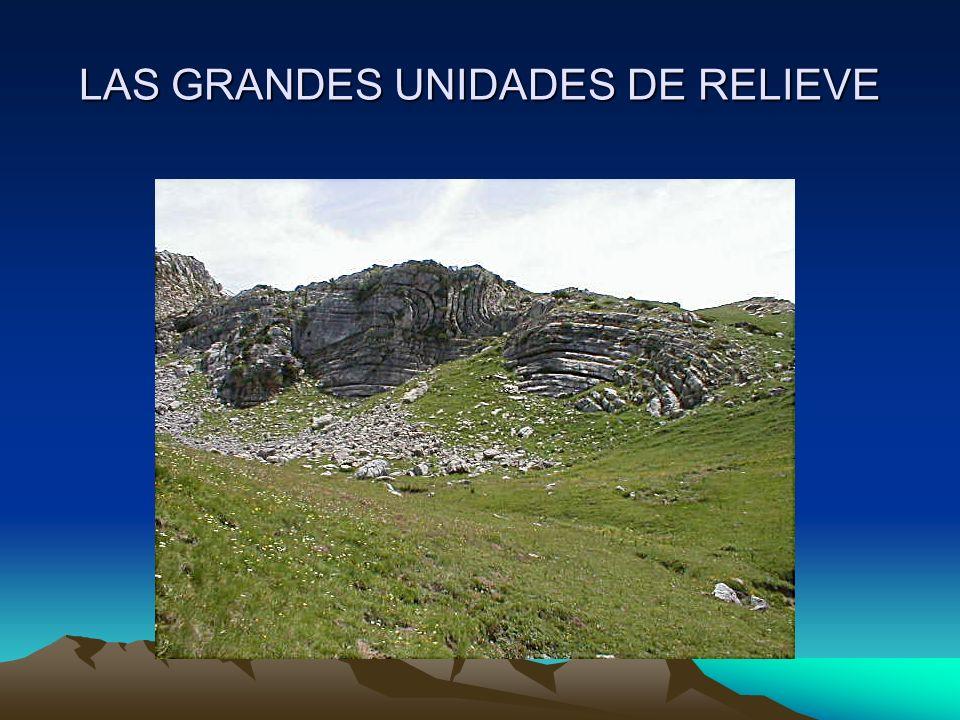 LAS GRANDES UNIDADES DE RELIEVE