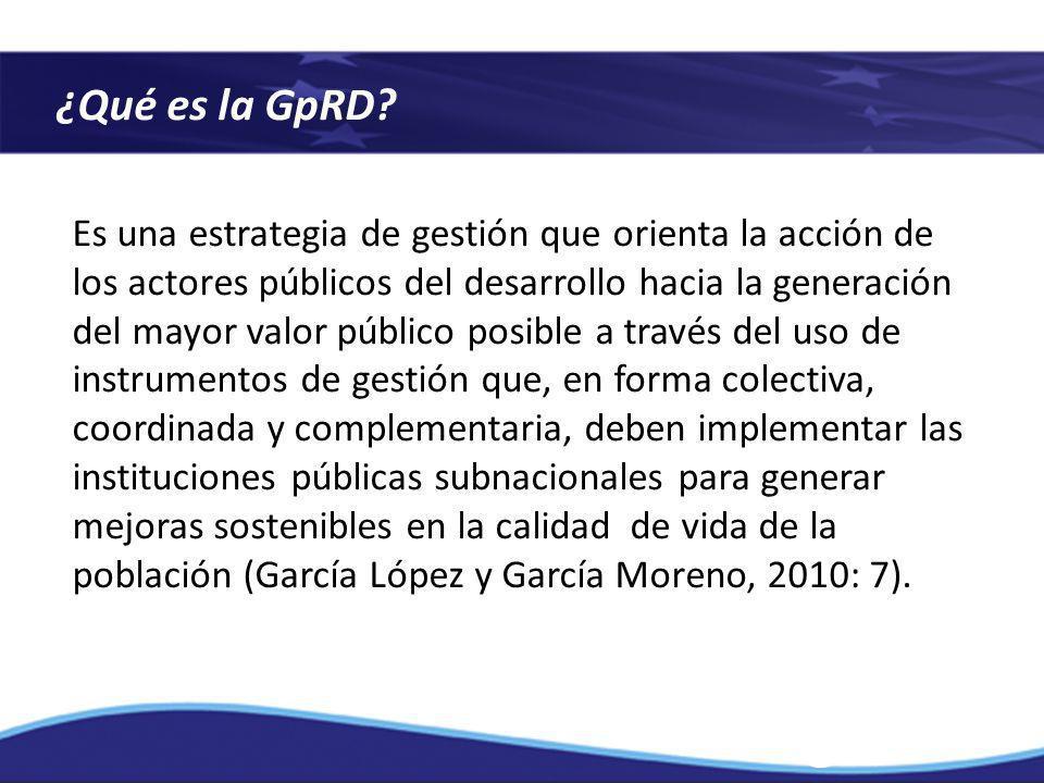 ¿Qué es la GpRD