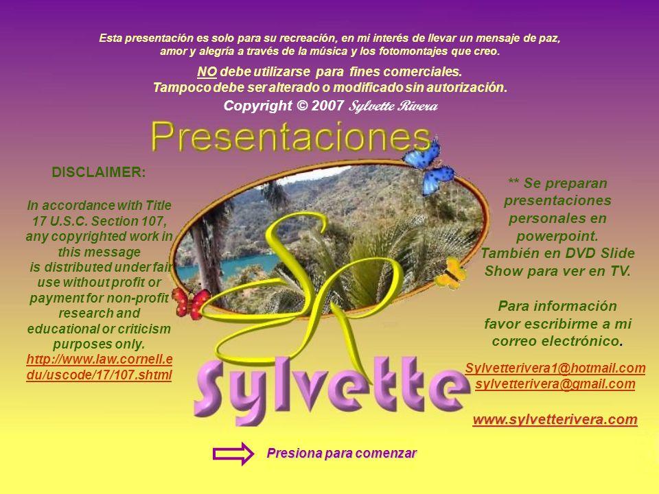 Copyright © 2007 Sylvette Rivera