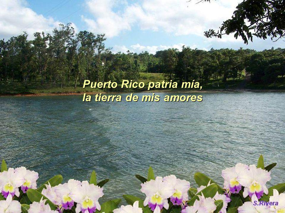 Puerto Rico patria mía, la tierra de mis amores