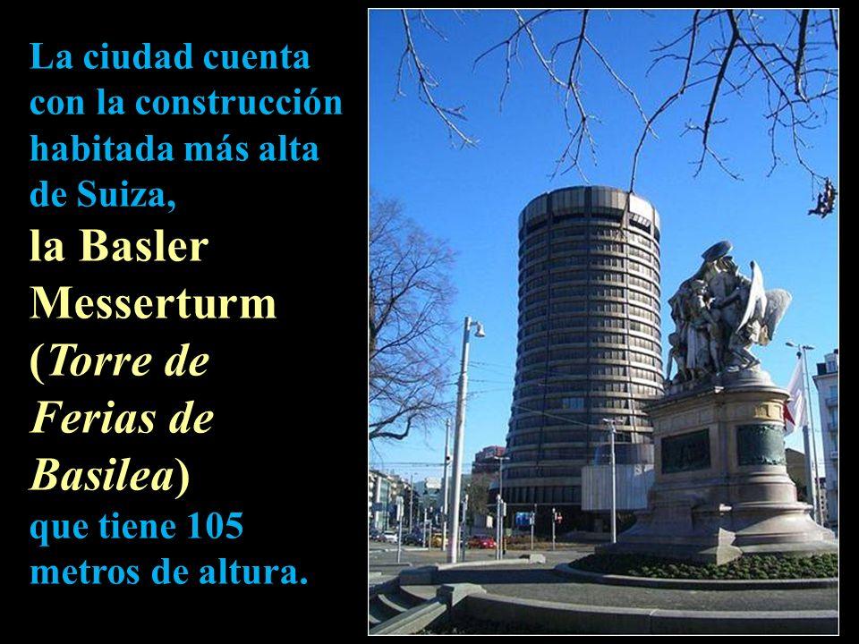 la Basler Messerturm (Torre de Ferias de Basilea)