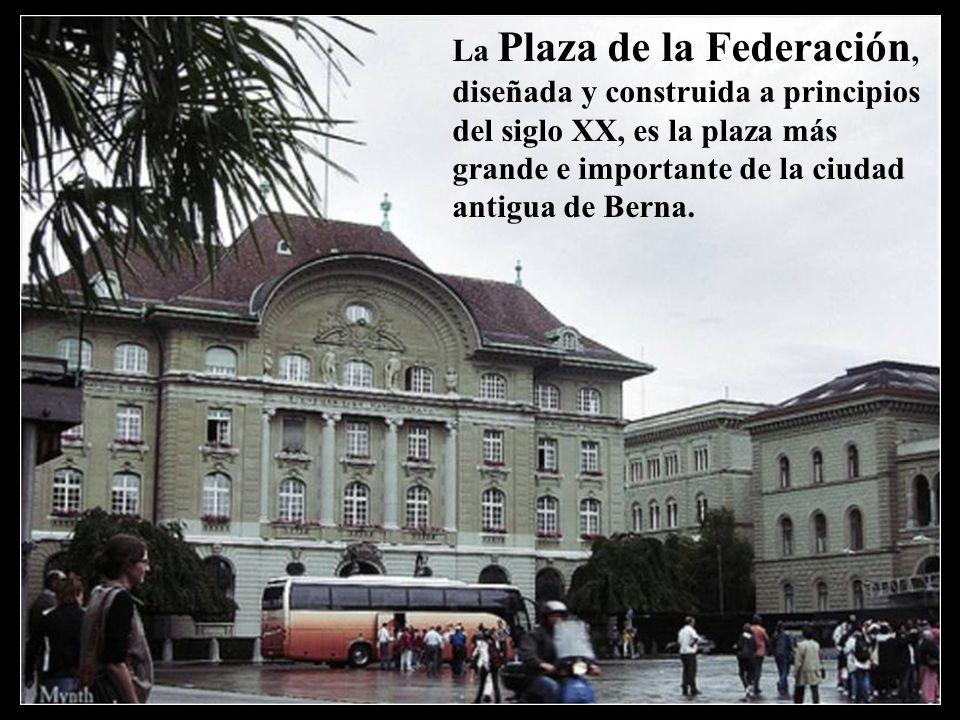 Palacio Federal de Berna, sede del gobierno suizo