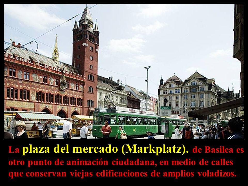 La plaza del mercado (Markplatz)