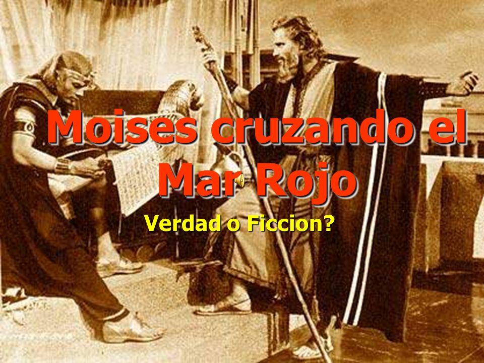 Moises cruzando el Mar Rojo