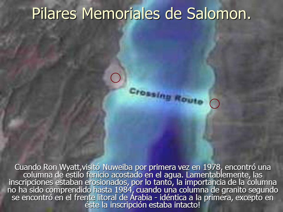 Pilares Memoriales de Salomon.