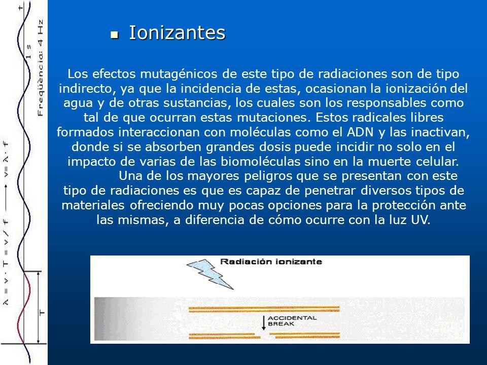 Ionizantes