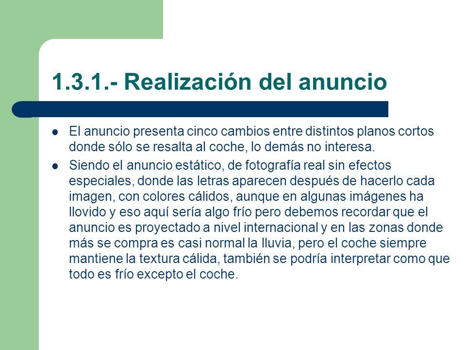 1.3.1.- Realización del anuncio