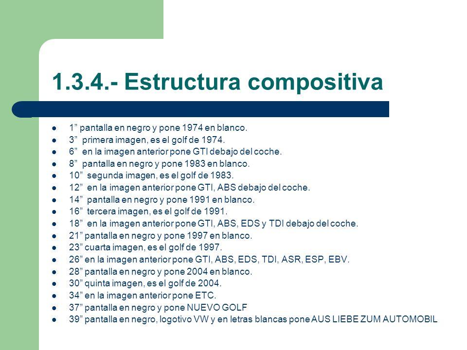 1.3.4.- Estructura compositiva