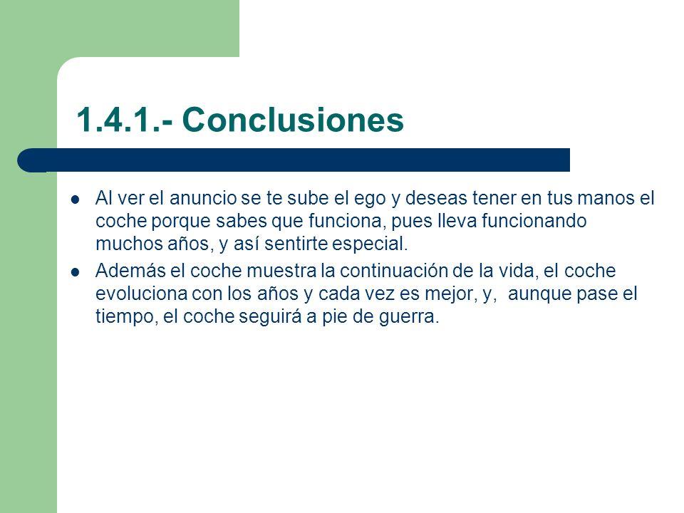 1.4.1.- Conclusiones