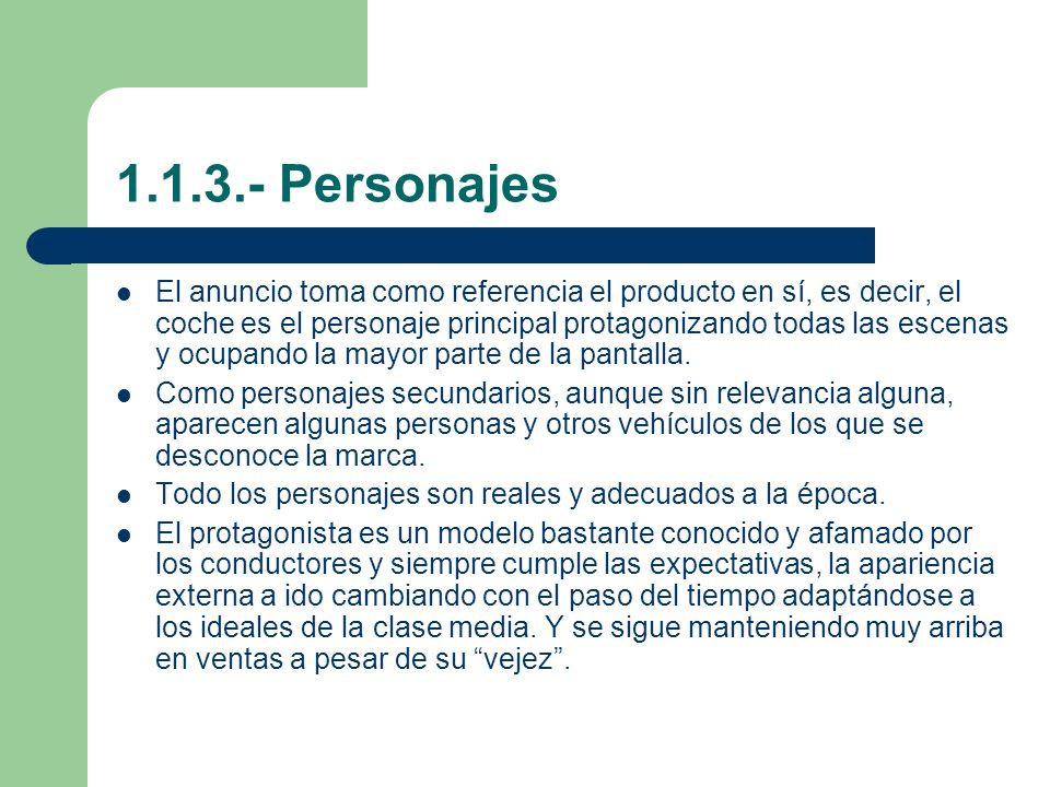 1.1.3.- Personajes