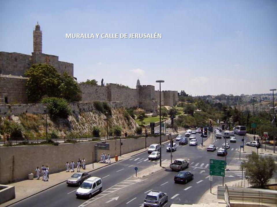 MURALLA Y CALLE DE JERUSALÉN