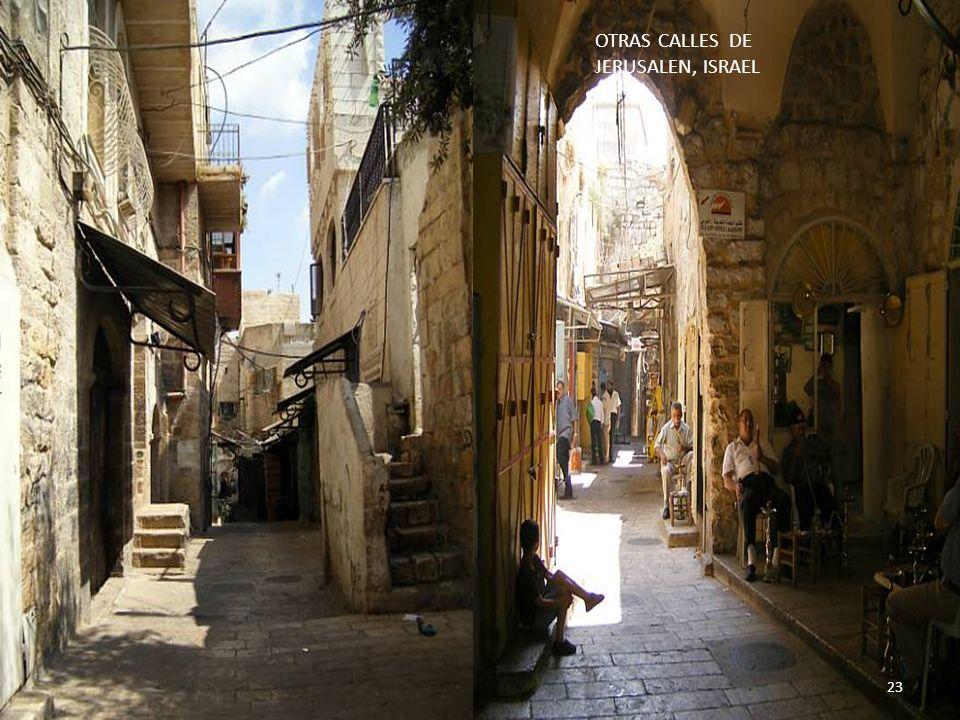 OTRAS CALLES DE JERUSALEN, ISRAEL