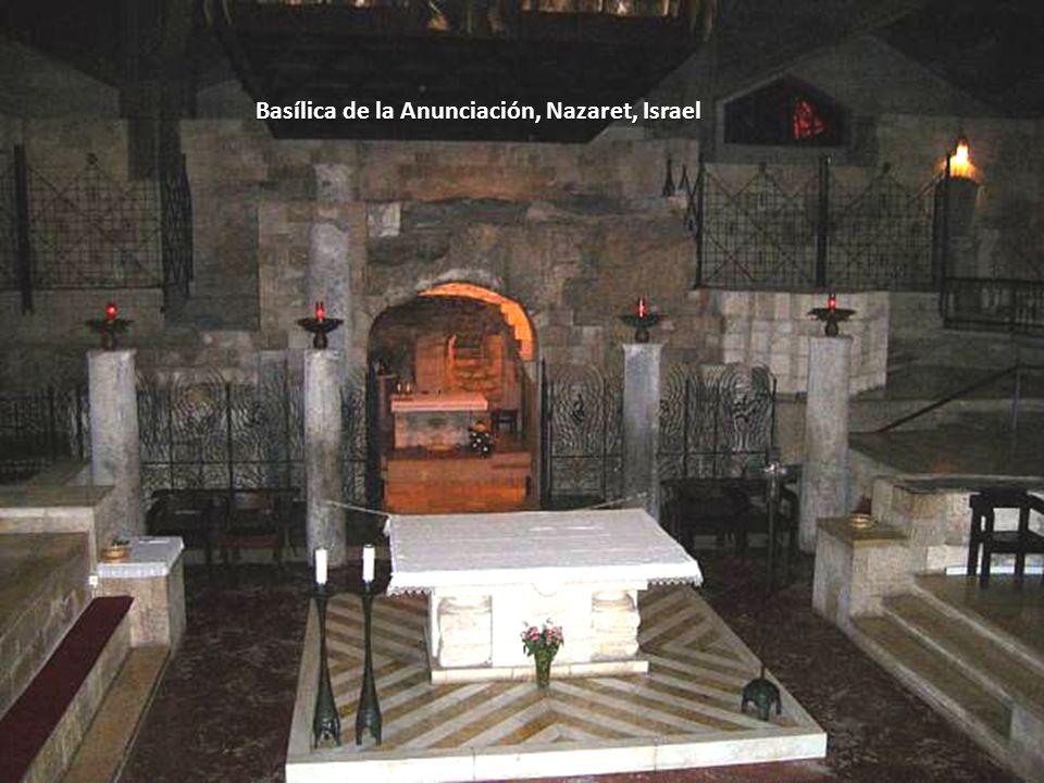 Basílica de la Anunciación, Nazaret, Israel