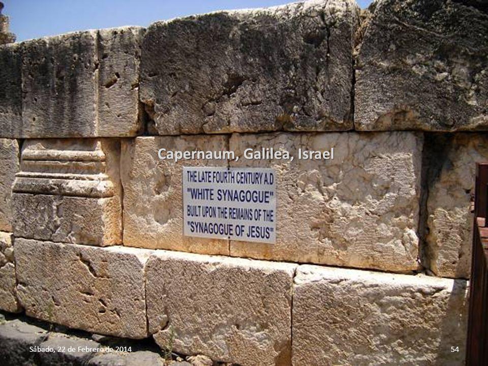 Capernaum, Galilea, Israel