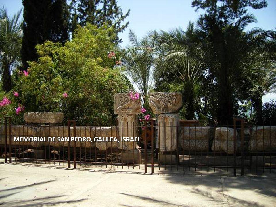 MEMORIAL DE SAN PEDRO, GALILEA, ISRAEL