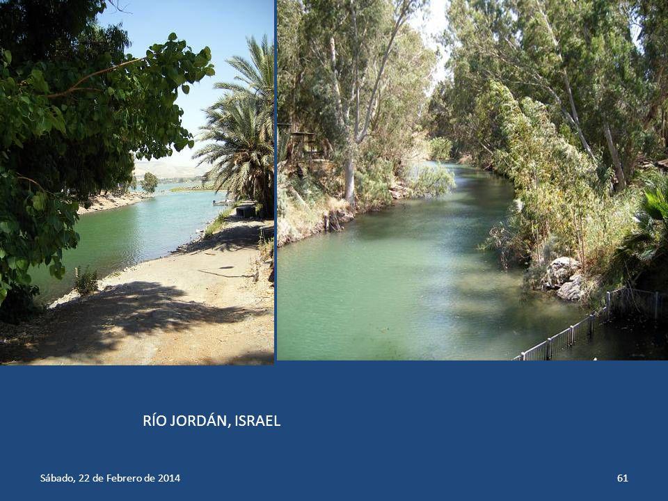 RÍO JORDÁN, ISRAEL miércoles, 29 de marzo de 2017miércoles, 29 de marzo de 2017
