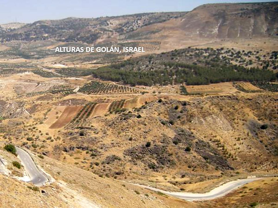 ALTURAS DE GOLÁN, ISRAEL