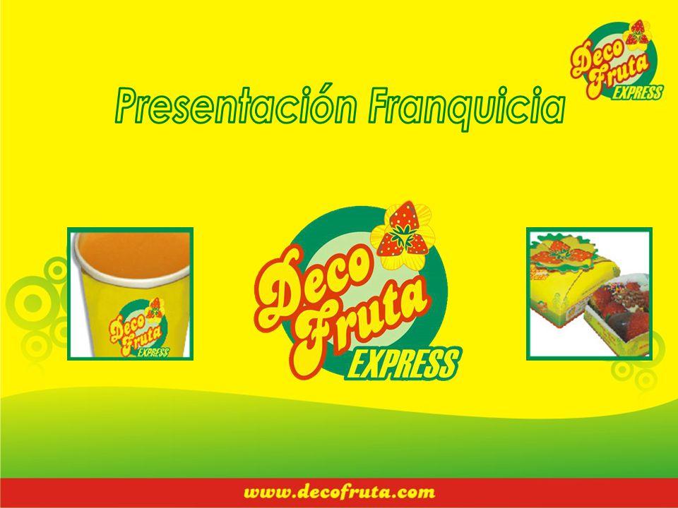 Presentación Franquicia