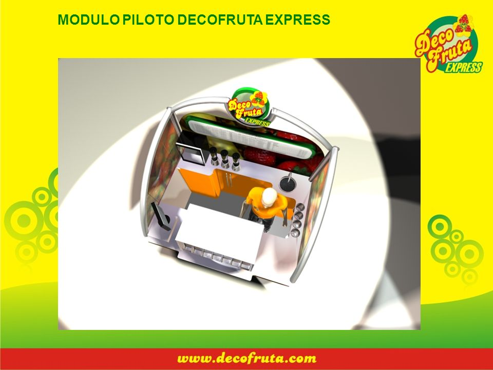 MODULO PILOTO DECOFRUTA EXPRESS