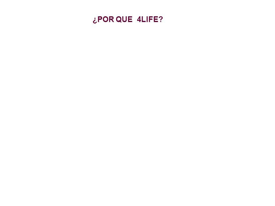 ¿POR QUE 4LIFE