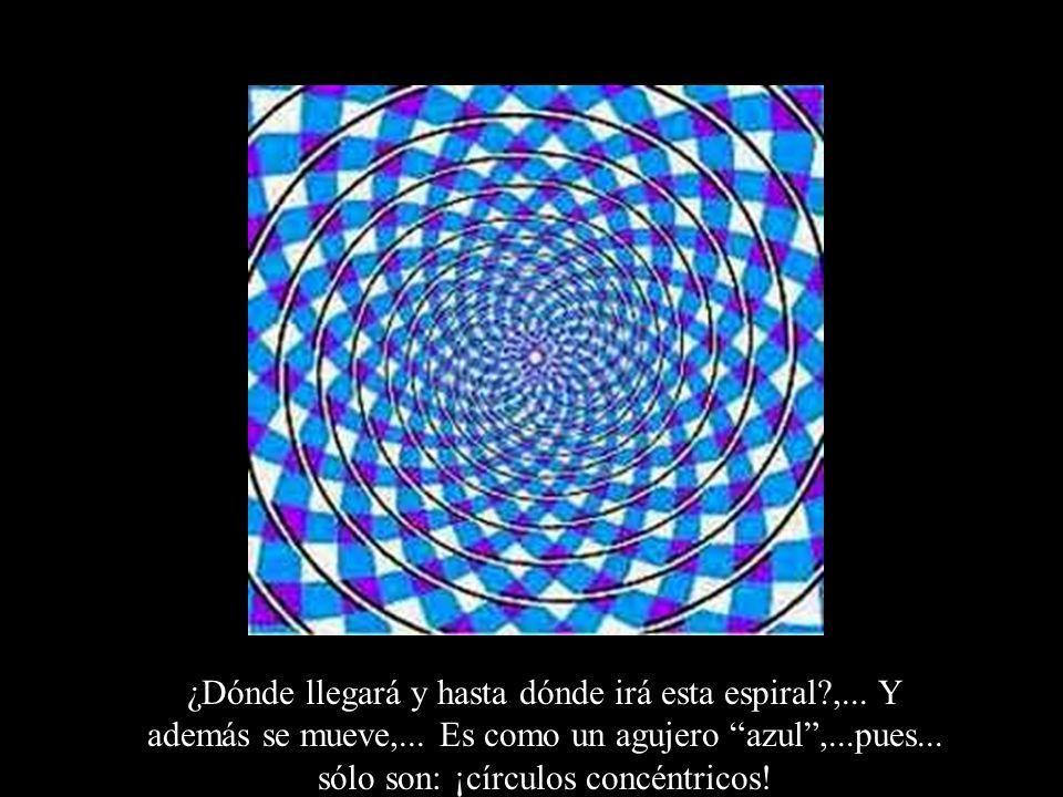 ¿Dónde llegará y hasta dónde irá esta espiral. ,. Y además se mueve,