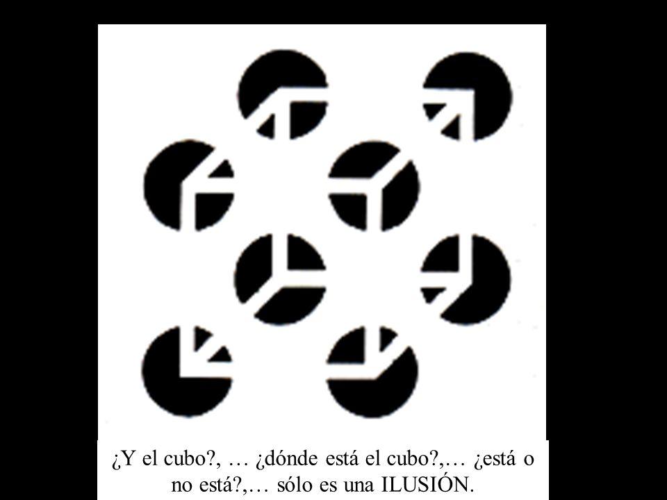 ¿Y el cubo. , … ¿dónde está el cubo. ,… ¿está o no está