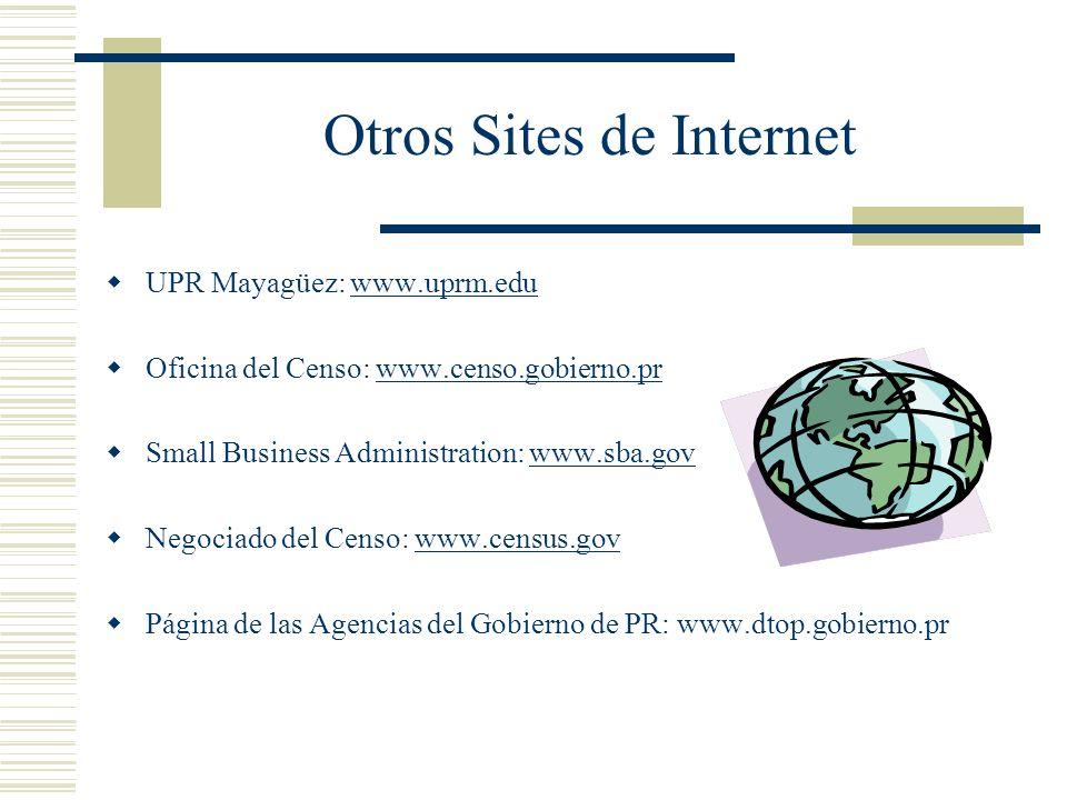 Otros Sites de Internet
