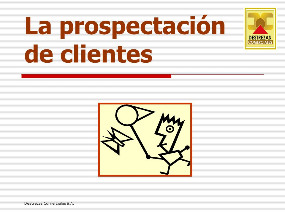 La prospectación de clientes