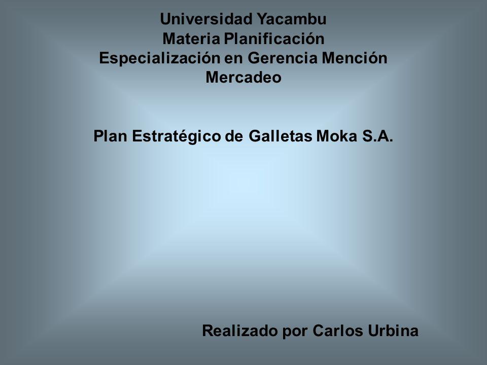 Materia Planificación Especialización en Gerencia Mención Mercadeo