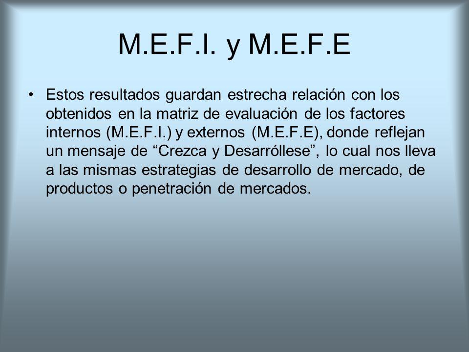 M.E.F.I. y M.E.F.E