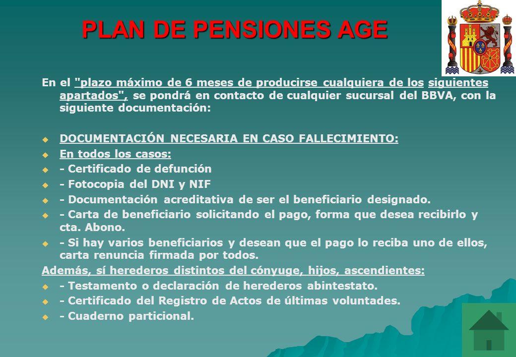 PLAN DE PENSIONES AGE
