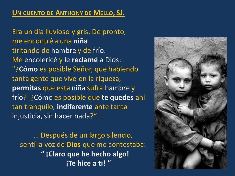 Un cuento de Anthony de Mello, SJ.