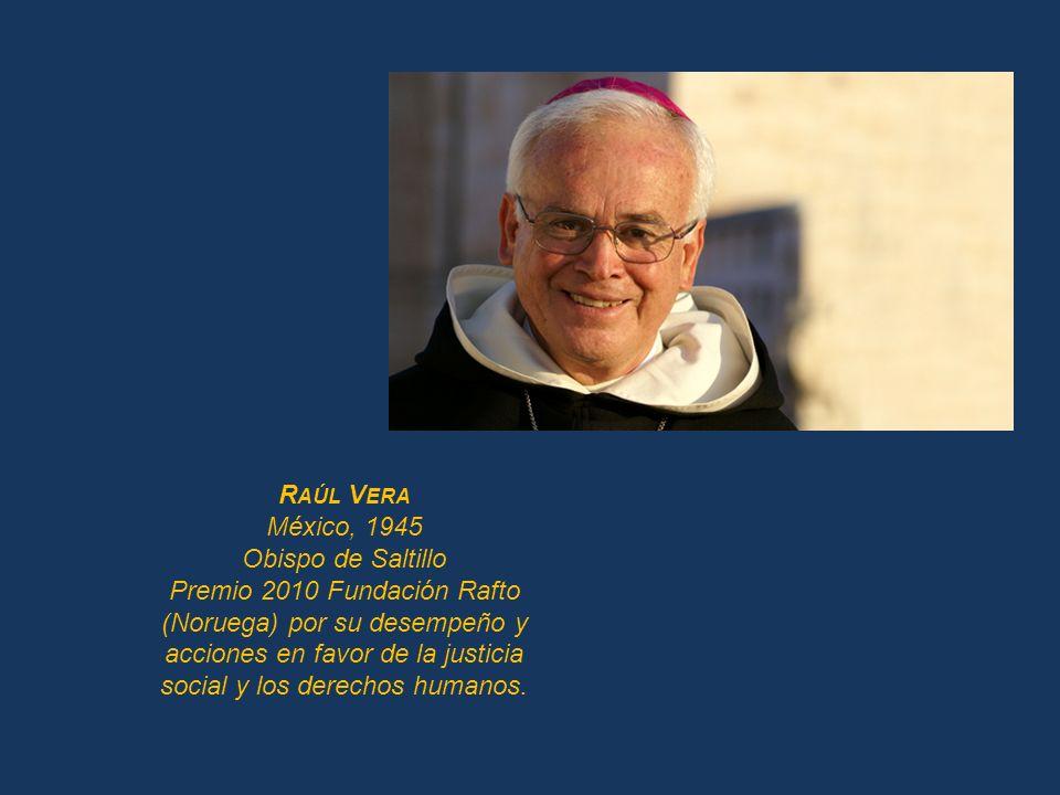 Premio 2010 Fundación Rafto