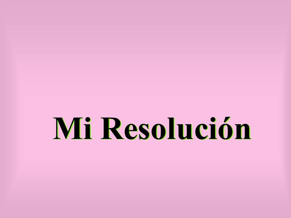 Mi Resolución
