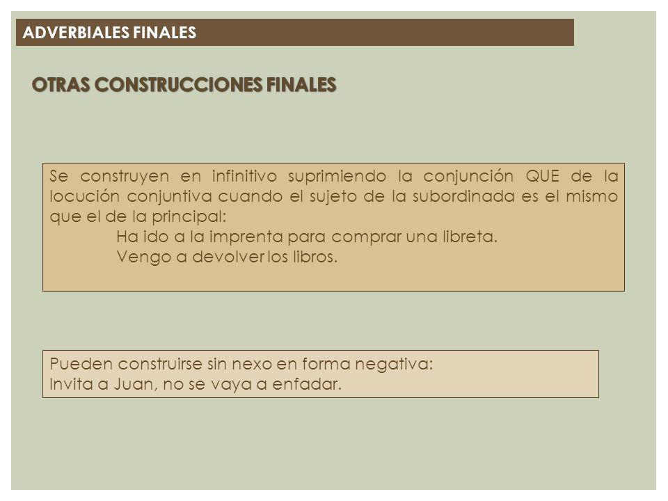 OTRAS CONSTRUCCIONES FINALES