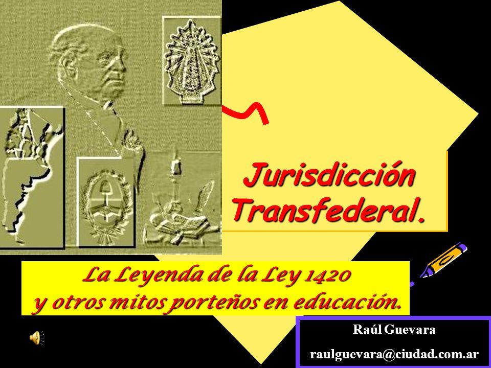 Jurisdicción Transfederal.