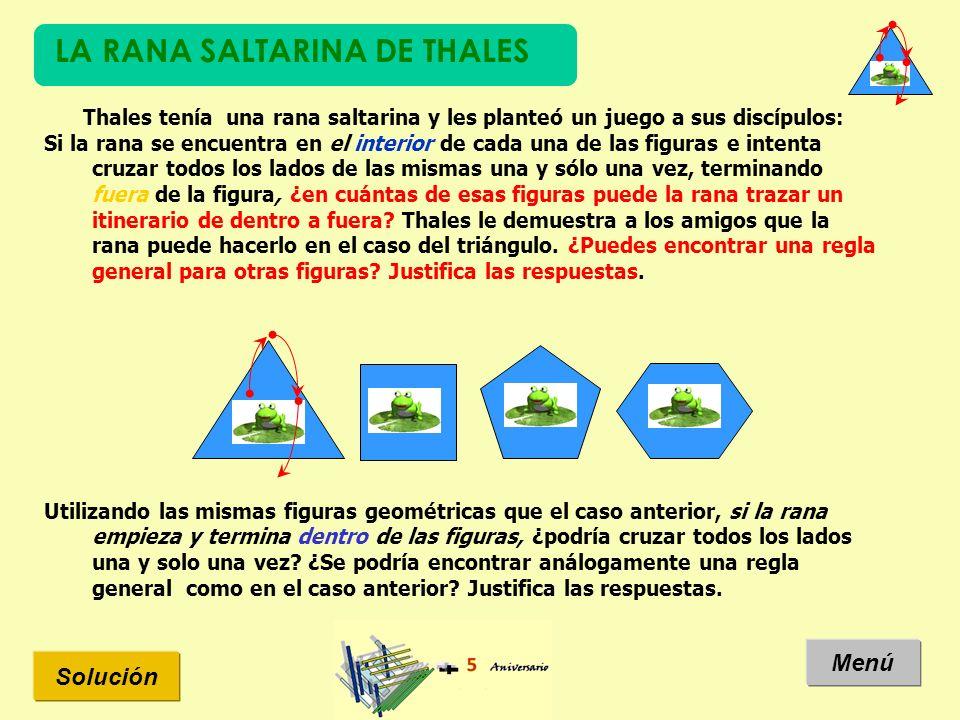 LA RANA SALTARINA DE THALES