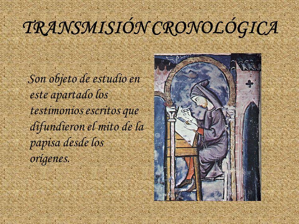 TRANSMISIÓN CRONOLÓGICA