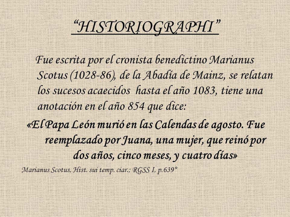 HISTORIOGRAPHI
