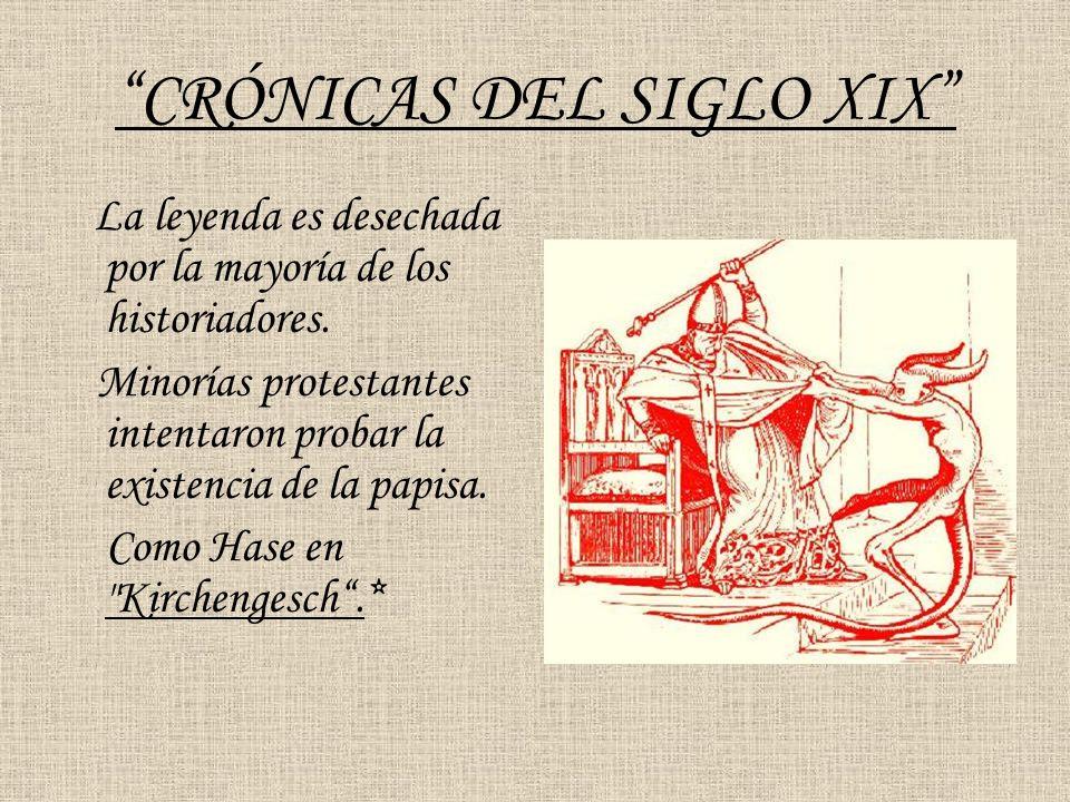 CRÓNICAS DEL SIGLO XIX
